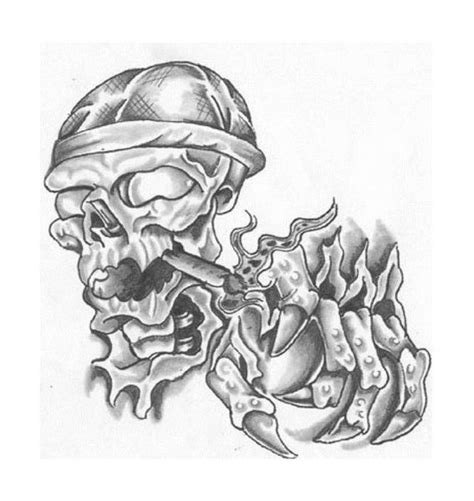 smoke skull tattoo designs skulls and smoke designs pin aztec skull