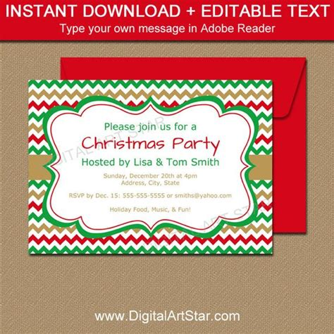 christmas invitation templates free editable printable invitation template editable invitation downloadable