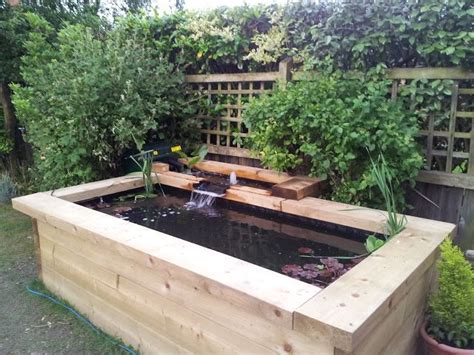 Raised Garden Pond Ideas Best 25 Raised Pond Ideas On Pinterest Garden Pond Design Pond Liner And Diy Pond