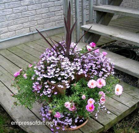 Annuals For Planters by 30 Flower Container Ideas To Make Your Garden Wonderful