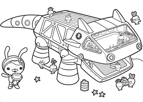 coloring pages for octonauts octonauts coloring pages to and print for free