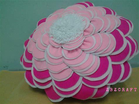 Bunga Bulat zbz craft bantal felt bulat bunga 3tone
