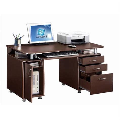 Laptop Storage Desk Storage Home Office Computer Desk Ebay