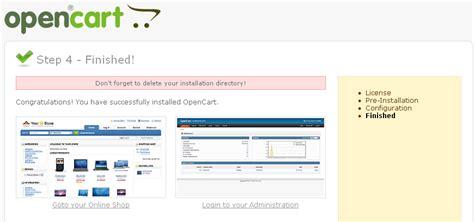 tutorial membuat toko online opencart tutorial cara membuat toko online dengan opencart tips