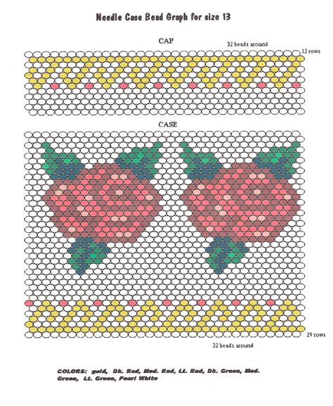 bead pattern worksheet beading patterns