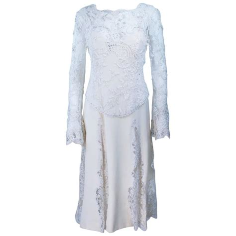 Dress Of The Day White Hoodie Dress Styledash by Fe Zandi White Lace Silk Embellished Dress Size 6 For Sale