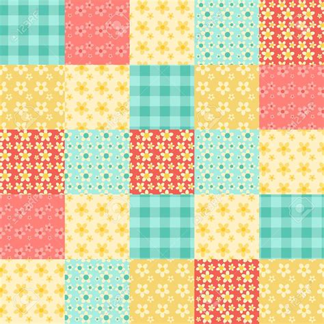 Patchwork Designs - patchwork quilt clipart 73