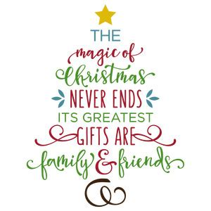 silhouette design store view design  magic  christmas  ends tree
