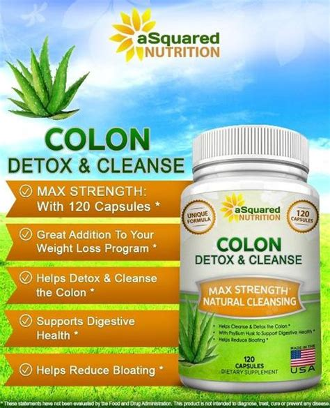 Colon Cleansing Detox by Colon Cleanse Asquared Nutrition