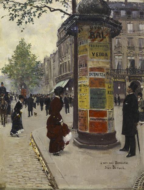 jean beraud impressionist painter  belle epoque tutt