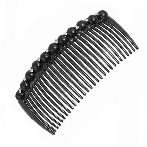 Faux Pearl Hair Clip faux pearl rhinestone decora plastic hair comb clip