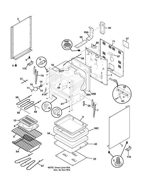 frigidaire stove parts diagram frigidaire fef366ccb electric range timer stove clocks