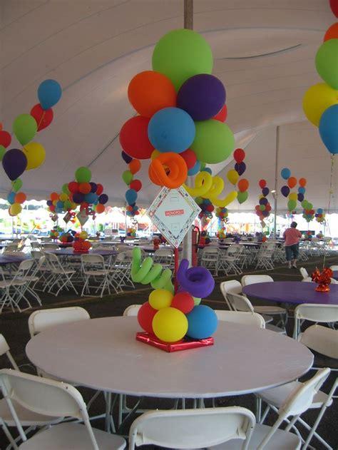 balloon decorations theme board theme centerpieces for a tent balloon decor