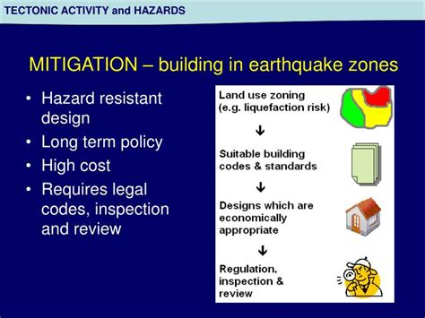 PPT   Tectonic Activity and Hazards PowerPoint
