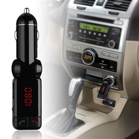 New Bluetooth Car Mp3 Fm Transmitter Modulator Charger Mobil 1 new car mp3 audio player fm transmitter bluetooth wireless fm modulator car kit usb