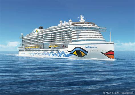 schiffsdaten aida prima aidaprima die neue schiffsgeneration dresden