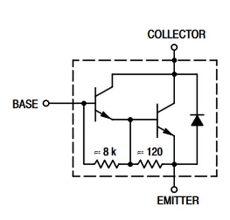equivalent transistor for tip122 tip120 n p n transistor complementary pnp replacement pinout pin configuration substitute