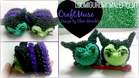 Tsum Tsum Original Maleficent rainbow loom loomigurumi maleficent inspired by tsum tsum