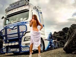 Sexy chicks and trucks