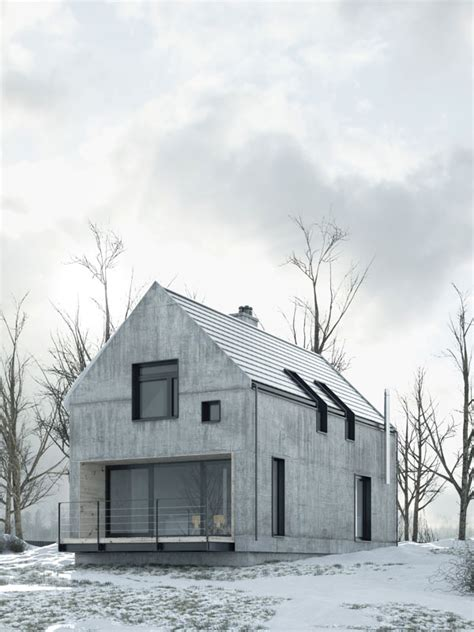 nordic house designs precast concrete houses austere yet practical design