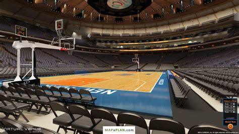 section 6 a madison square garden seating chart detailed seat