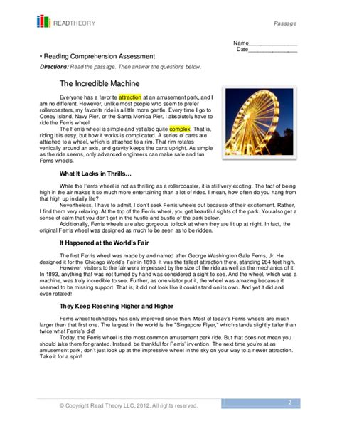 Read Theory Worksheets by Read Theory Llc Worksheets Tutsstar Thousands Of