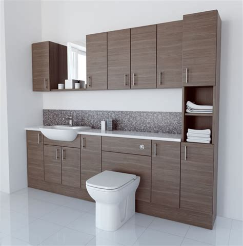 brown bathroom furniture bathcabz bathroom fitted furniture products fitted