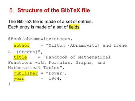 latex tutorial bibtex how to start using latex and bibtex