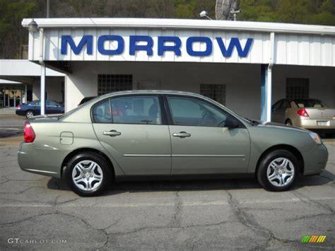 2006 silver chevy malibu 2006 silver green metallic chevrolet malibu ls sedan