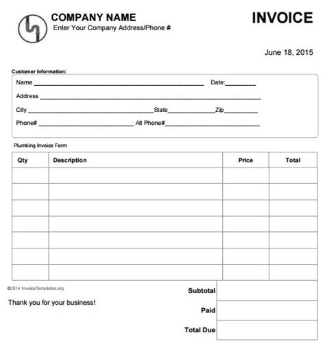 download work order invoice template excel rabitah net