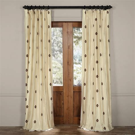 mirror curtains classic mirror pearl white silk curtains drapes