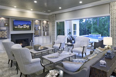model home interior design houston toll brothers unveils west coast style model homes