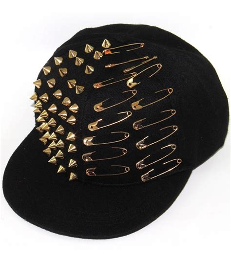 Studded Hat spike studded hat various colors