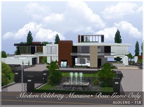 3 Car Garage Designs aloleng s modern celebrity mansion