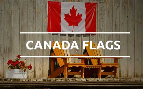 grand flags decorative flags canadian flags