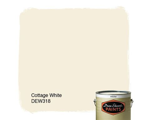dunn edwards paints white paint color cottage white dew318 click for a free color sle