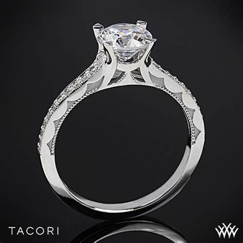 tacori 58 3 rd sculpted crescent grace engagement