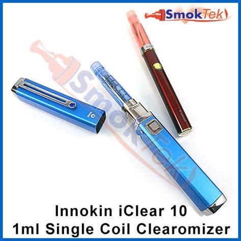 Innokin Iclear 10 Single Coil Clearomizer Tank Vape innokin iclear 10 single coil clearomizer 1 8 ohm smoktek