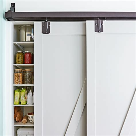 Sliding Pantry Shelves Lowes by Modern Farmhouse Kitchen Design