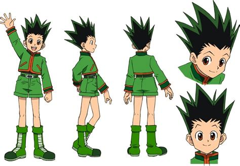 gon freeks hunter x hunter wiki fandom powered by wikia image gon design jpg hunterpedia fandom powered by wikia