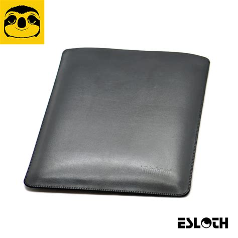 Lenovo Thinkpads Leather Bound by Esloth Plain Weave Black For Lenovo Thinkpad X1 Carbon 14
