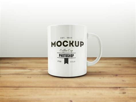 Coffee Mug Free MockUp PSD