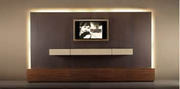 contemporary tv wall unit wood with wooden cabinet