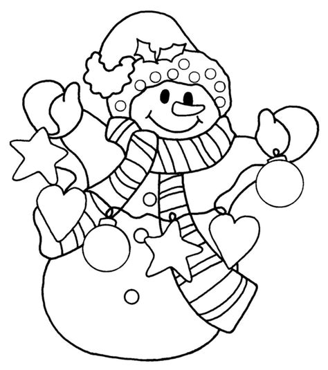 Printable Snowman Coloring Pages Coloring Me Coloring Page Of Snowman