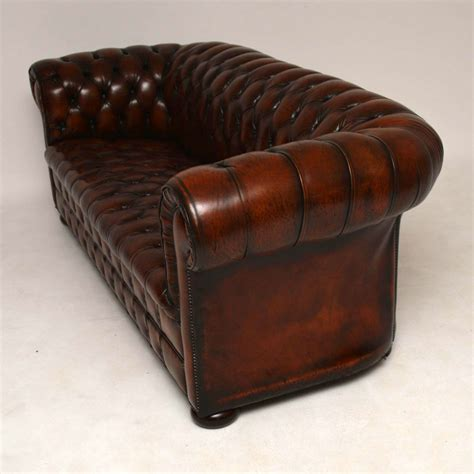 antique chesterfield sofa antique leather chesterfield sofa marylebone antiques
