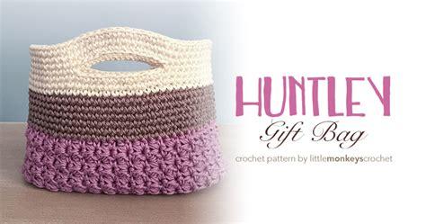 crochet pattern gift bag huntley crochet gift bag little monkeys crochet