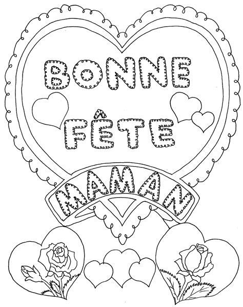 coloriage 195 dessiner f 195 170 te des m 195 168 res fleurs