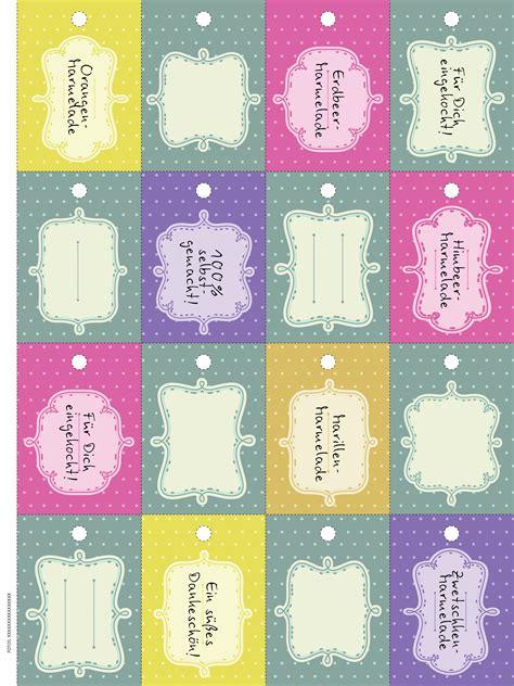 Etiketten Marmelade Download by Marmelade Genuss In Gl 228 Sern Etiketten Zum Download