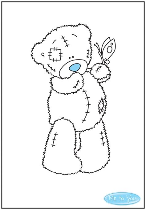 Carte Blanche Me To You The Home Of Tatty Teddy Me To You Colouring Pages
