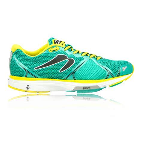 newton fate ii womens green sneakers running road sports